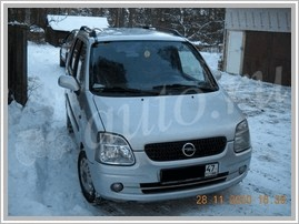 Автомобиль Opel Agila 1.2 AT 86 Hp